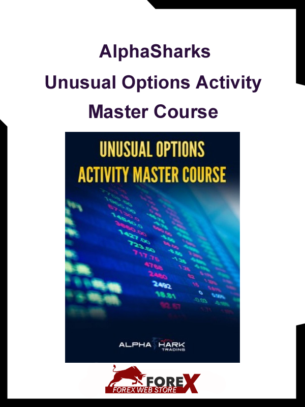 AlphaSharks - Unusual Options Activity Master Course